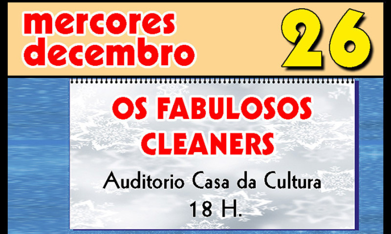 OS FABULOSOS CLEANERS